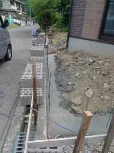 阪南市 外構工事