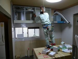 阪南市 M様邸 キッチン施工