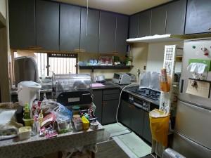 阪南市 M様邸 工事前キッチン